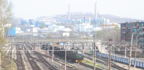 撫順炭鉱列車