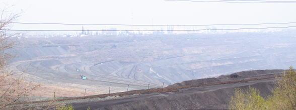 露天掘り炭鉱