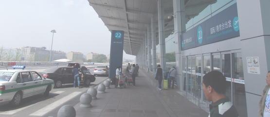 帰りの大連空港