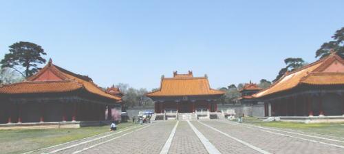 福陵 宮殿