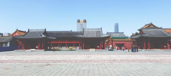 瀋陽故宮 広場