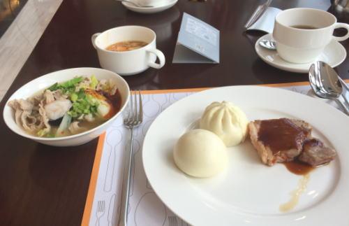ホテルニッコー大連 朝食