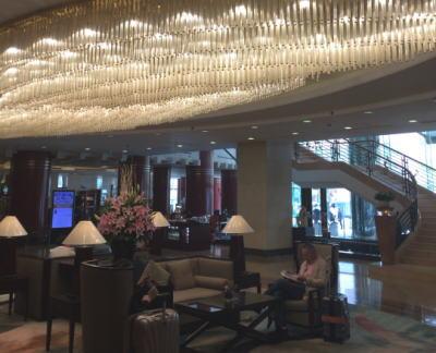 大連日航ホテル エントランス