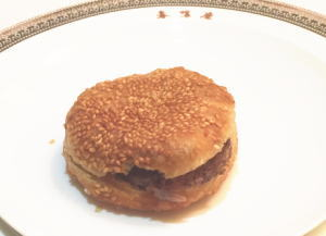 鹿肉サンドイッチ