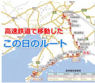 高速鉄道ルート