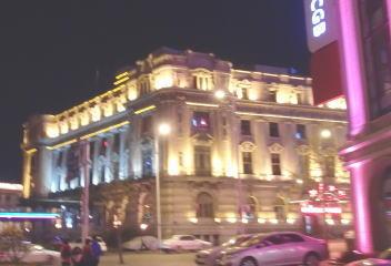 大連賓館 夜
